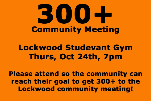 Lockwood Residents Looking for 300+ – Huntley Project- Online Source